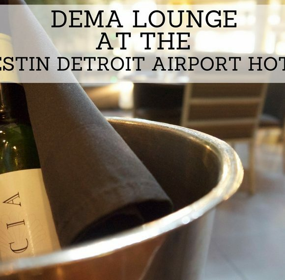 Dining at Dema at the Westin Detroit Airport Hotel