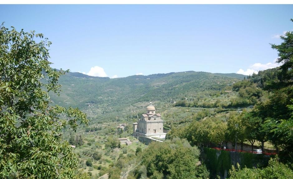 Cortona ist eine gute Lage in der Toskana zu bleiben