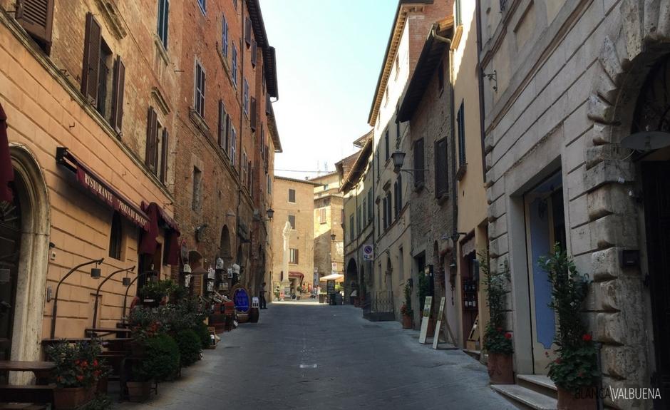 Montepulciano es un buen lugar para comenzar su visita Toscana