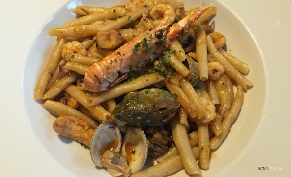 Fuzi and seafood are great things to eat in Croatia