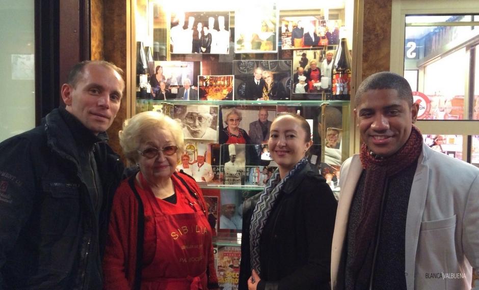 Colette Sibilia gestisce uno dei migliori negozi di Charcuterie a Lione, France