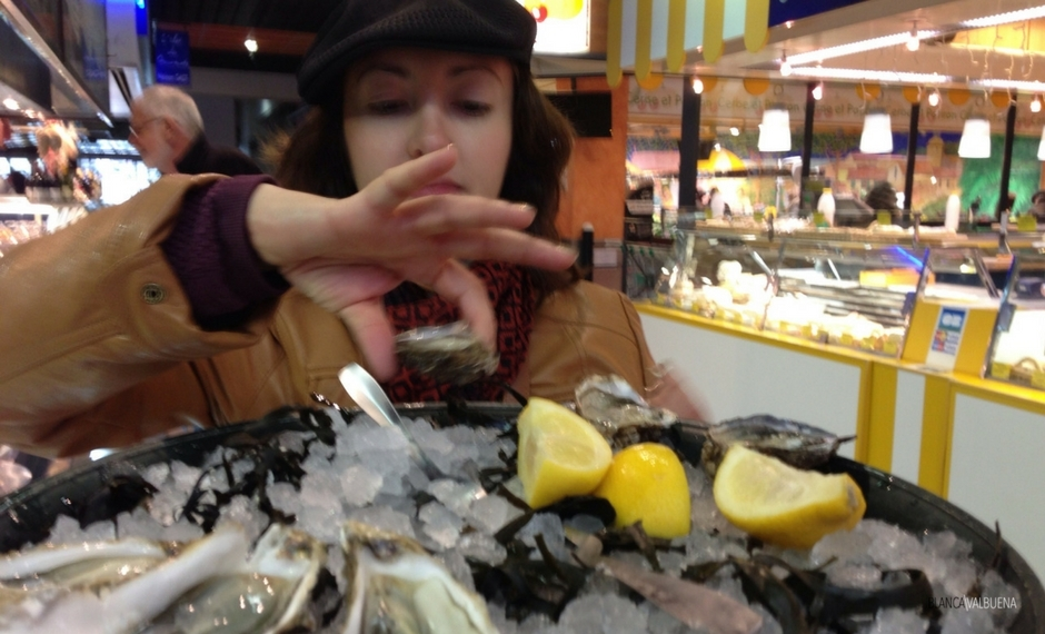 A good place to get oysters in Lyon is Chez Leon
