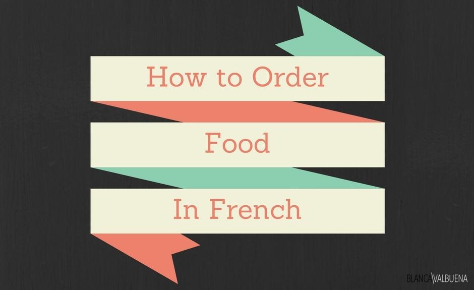 怎么说法语的基本餐饮短语