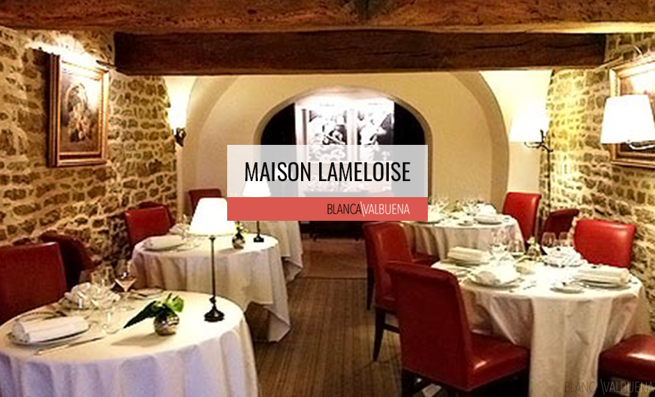 How to eat at Maison Lameloise Michelin Star restaurant on a budget