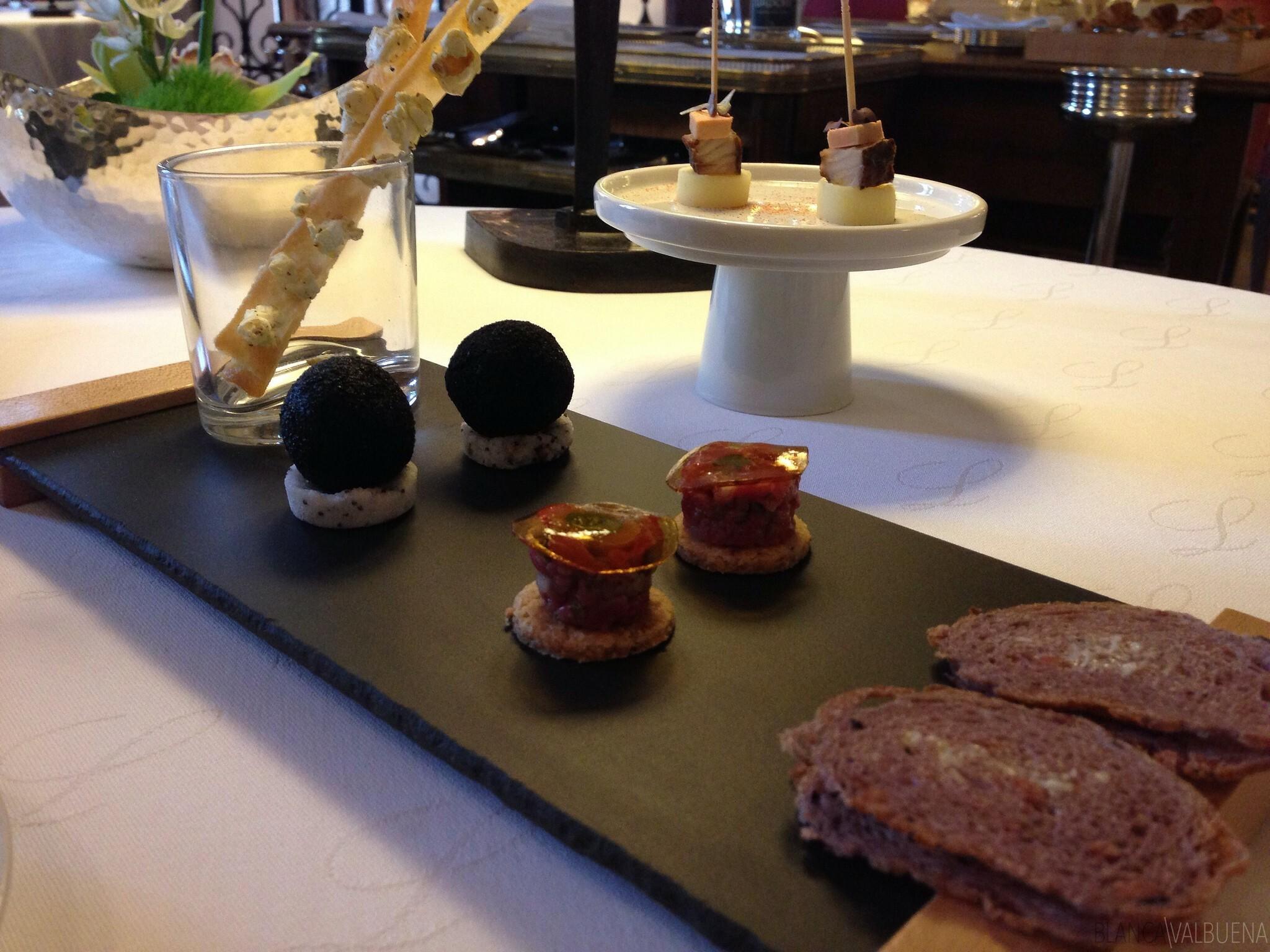 Maison Lameloise serves great appetizers