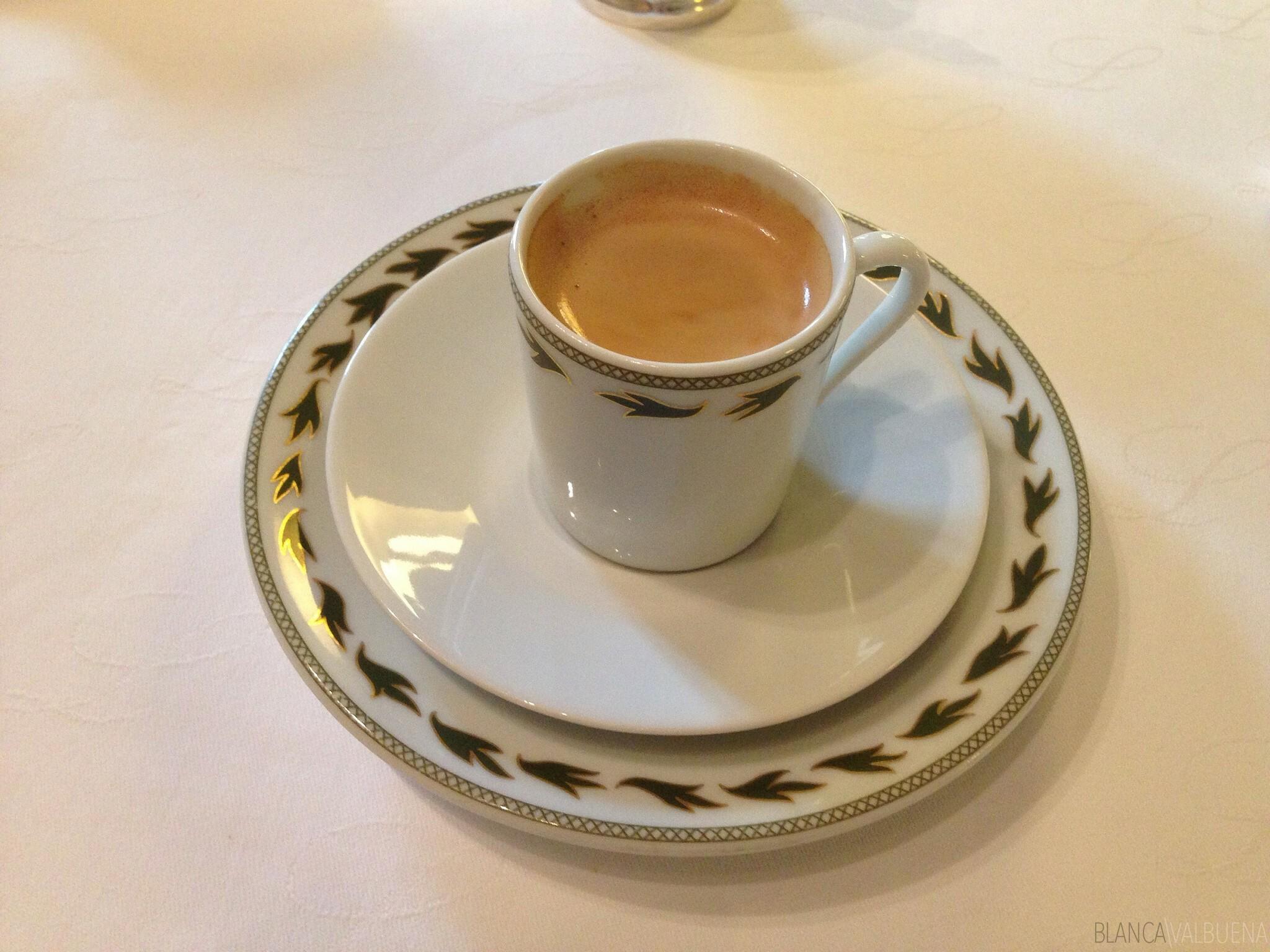 Maison Lameloise coffee