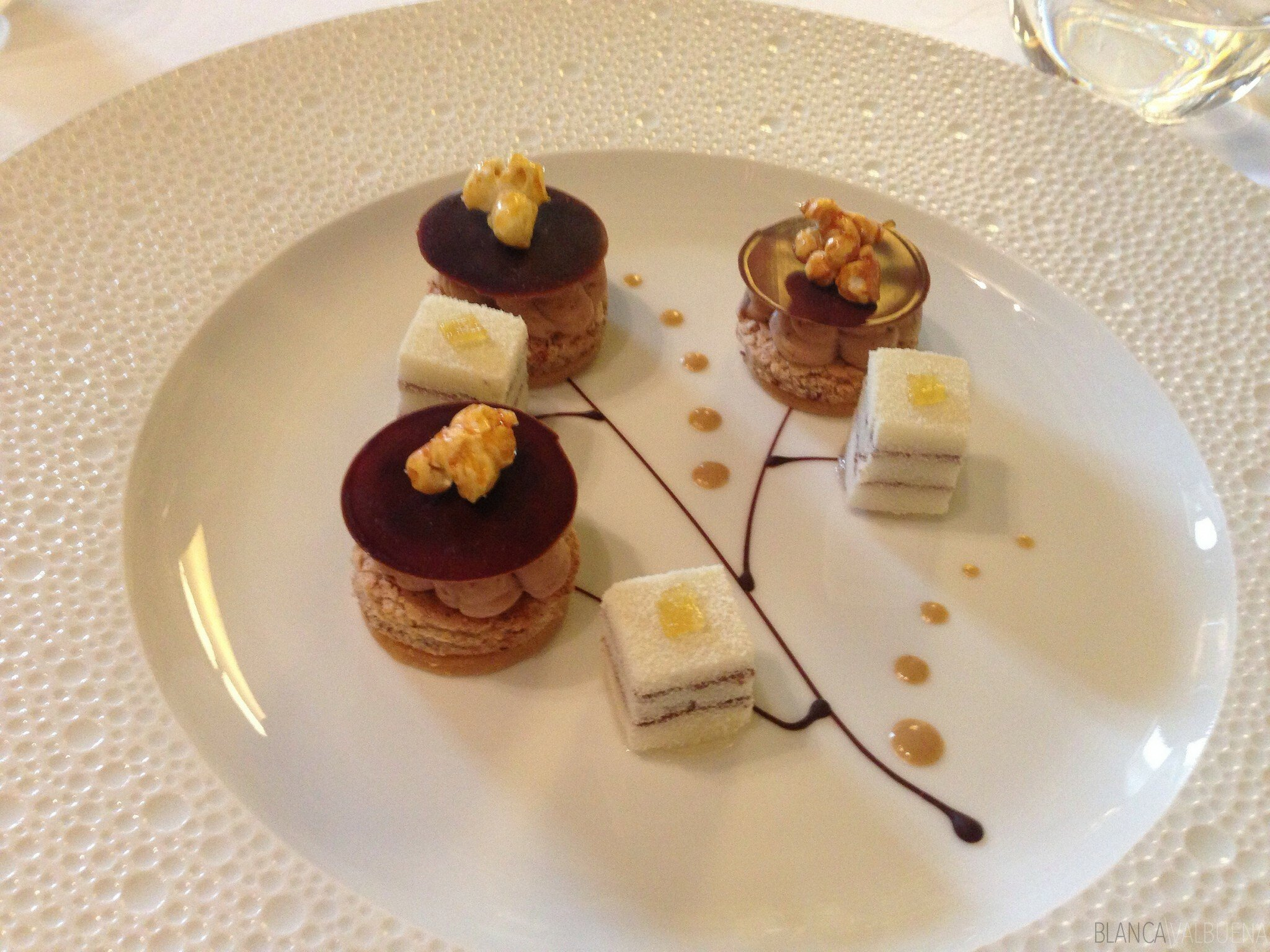 Michelin dessert at Maison Lameloise