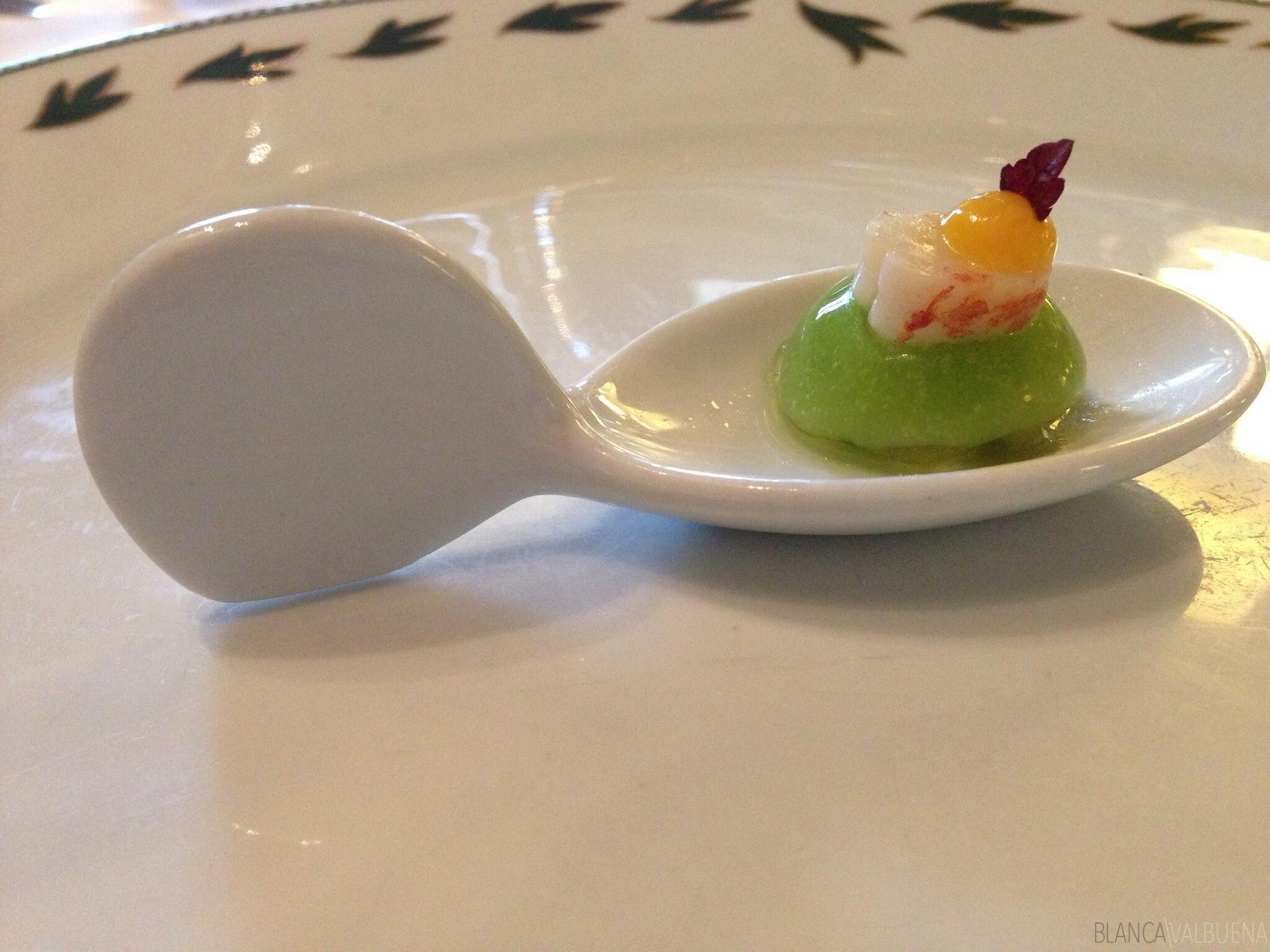 Maison Lameloise serves wonderful appetizers