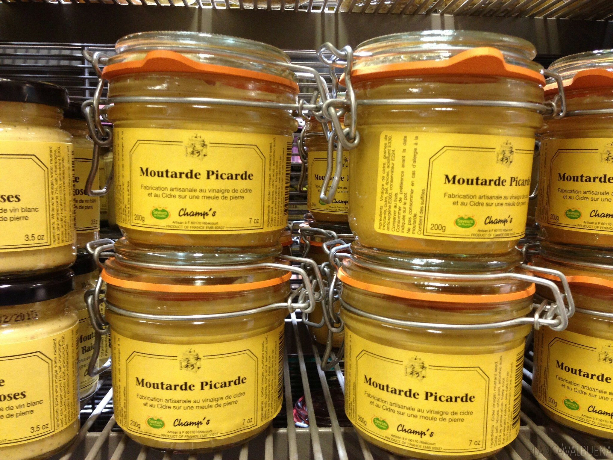Galeries Lafayette in Paris has a good assortisment of Mustard
