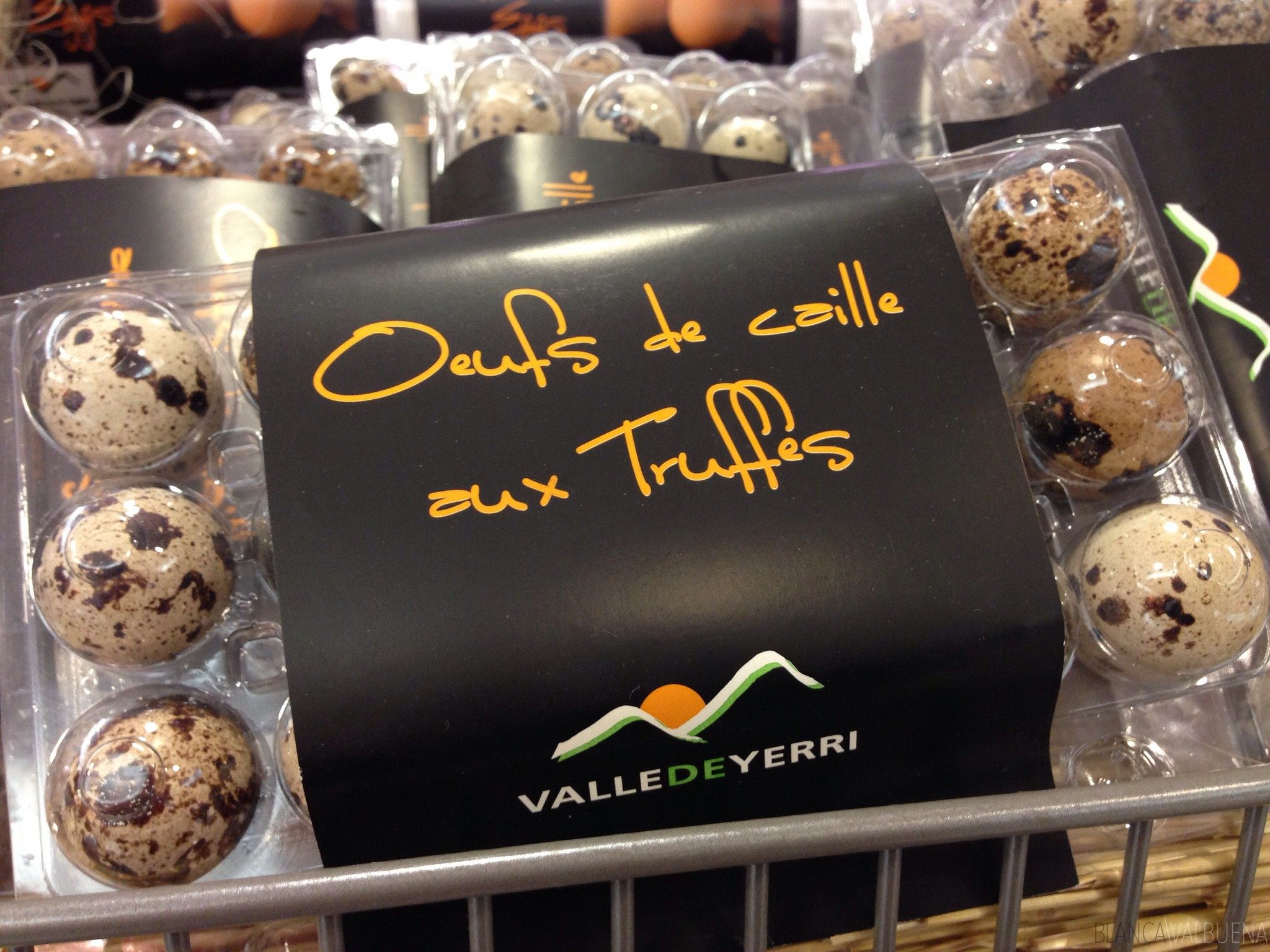 Truffled eggs are abundant at Galeries Lafayette