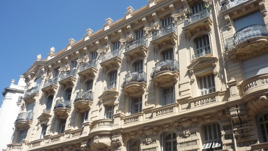 building in Nice France