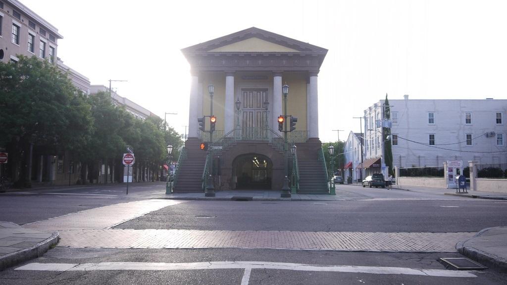Charleston SC Sklavenmarkt