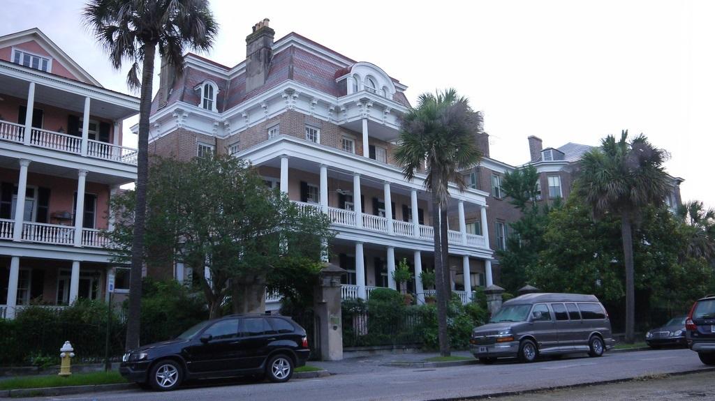 edificio histórico de Charleston Carolina del Sur