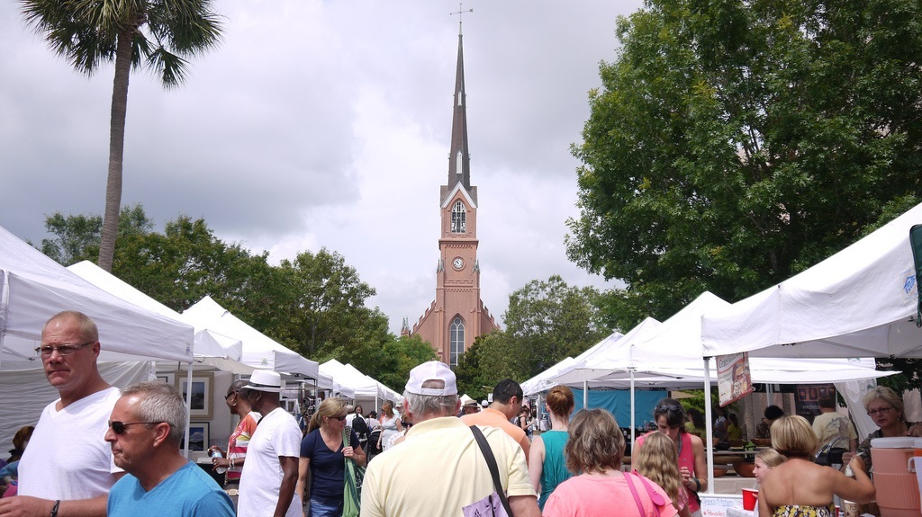 The Farmer's Market in Charleston SC