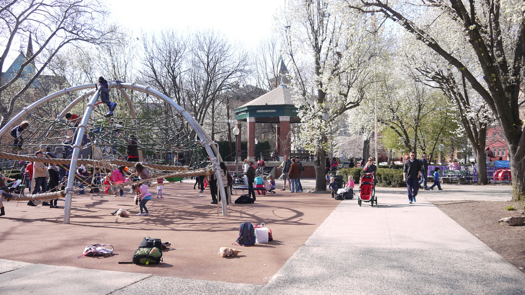 Hoboken Church Square Park Playground