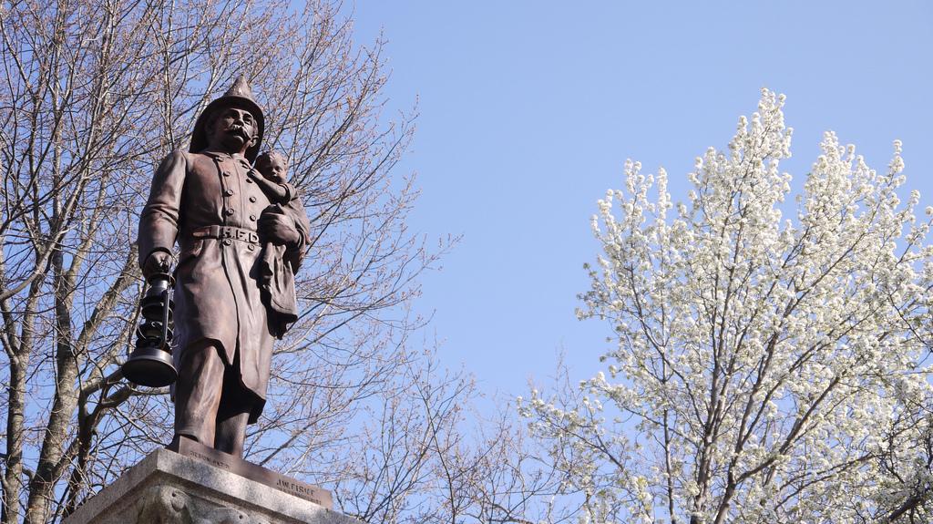 Pompiers Monument Hoboken