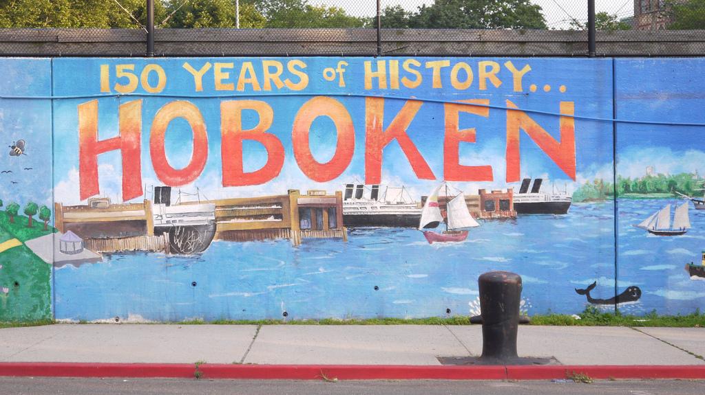 Hoboken Mural 150 Anos de História
