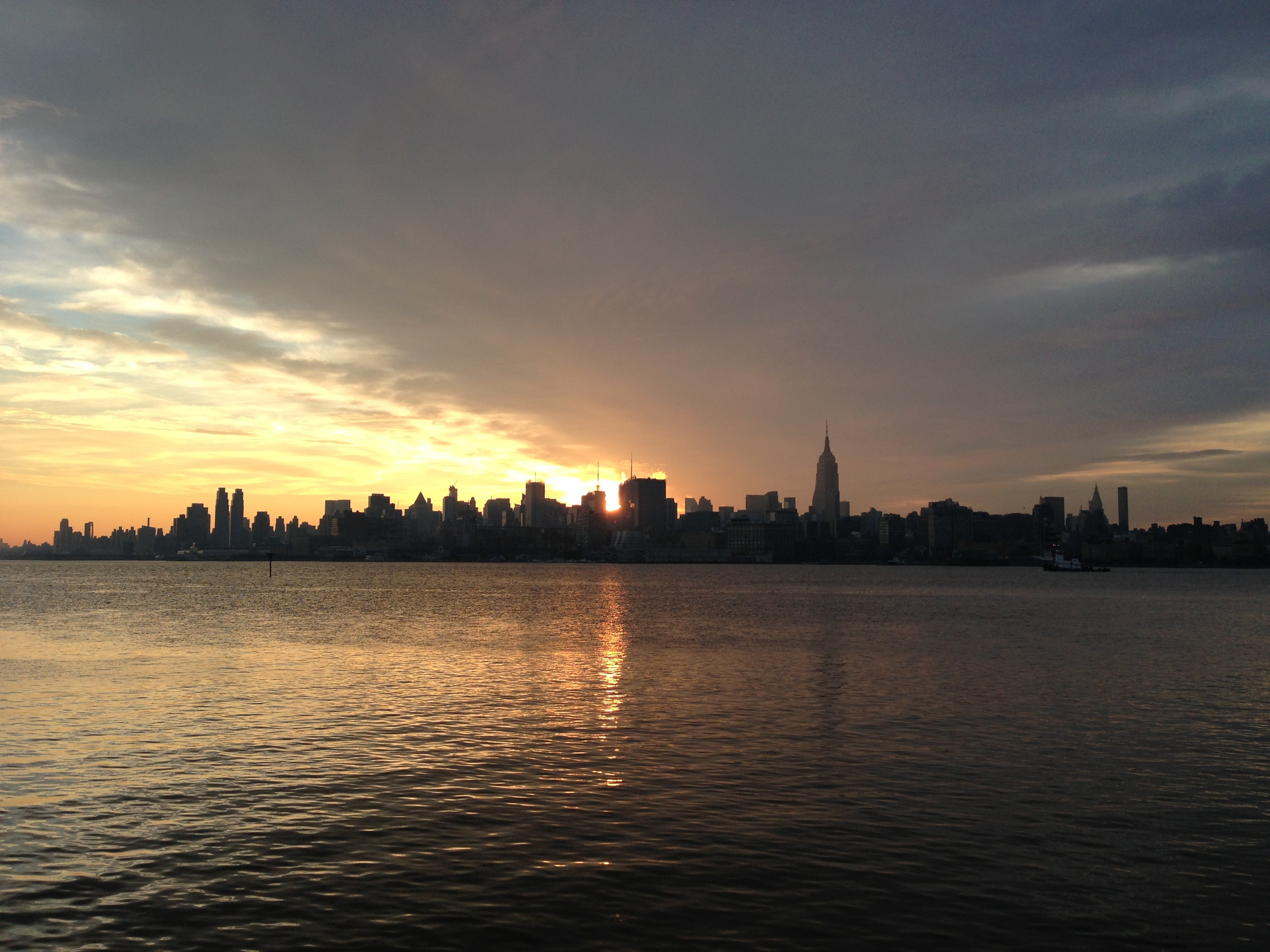 Hudson River Sunrise