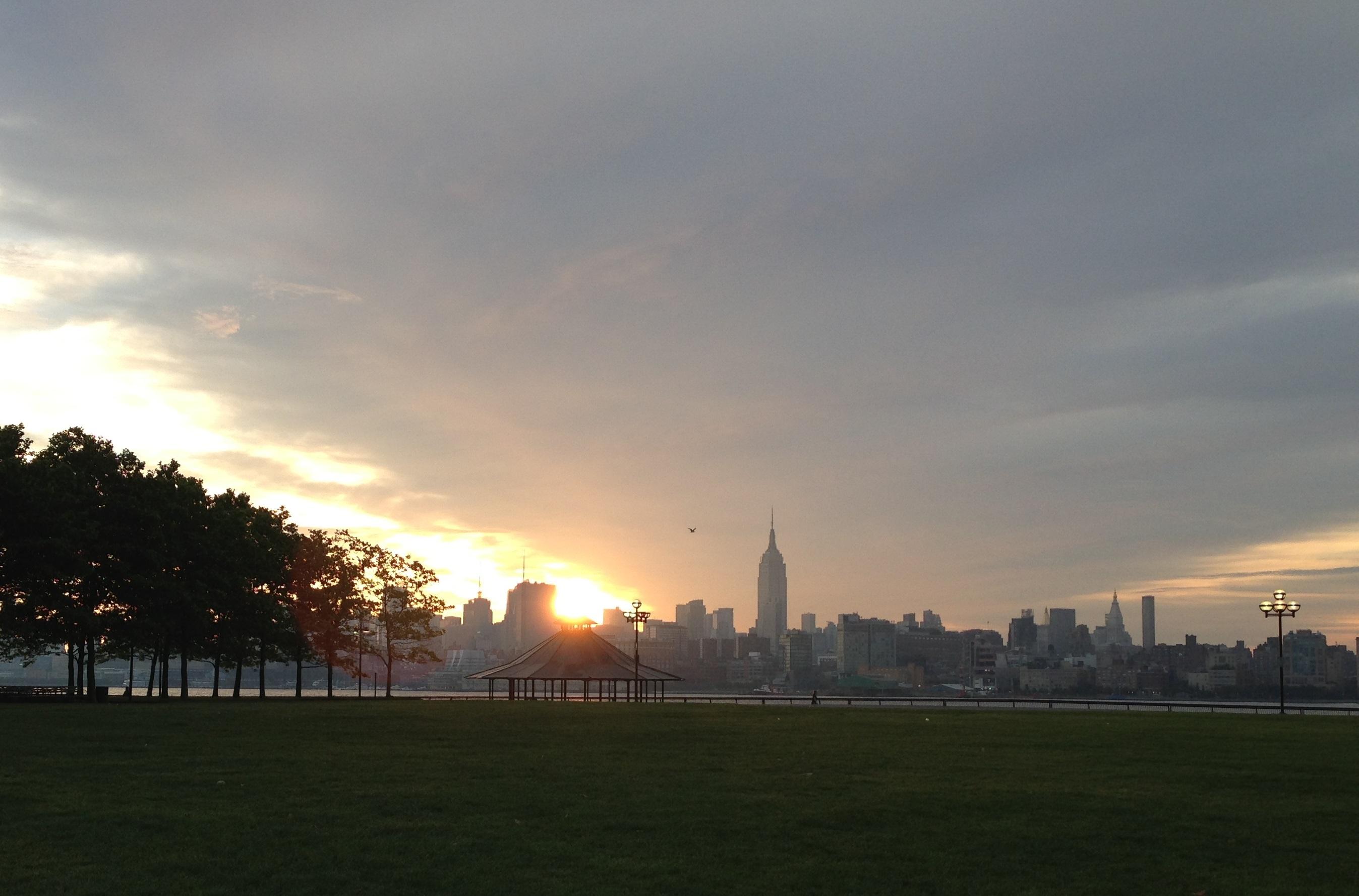 Pier A Hoboken Sunrise