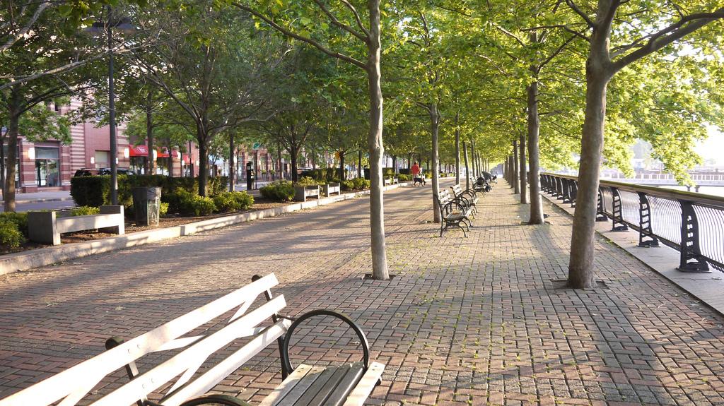 Park Sinatra Drive à Hoboken