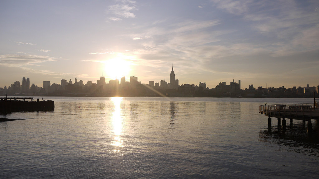 Manhattan Skyline Sunrise