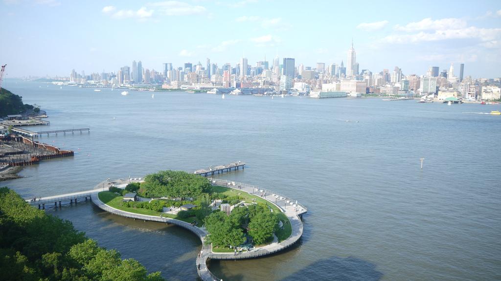 Hoboken's Hudson River Park
