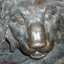 Lion Sculpture Louis XIV Place