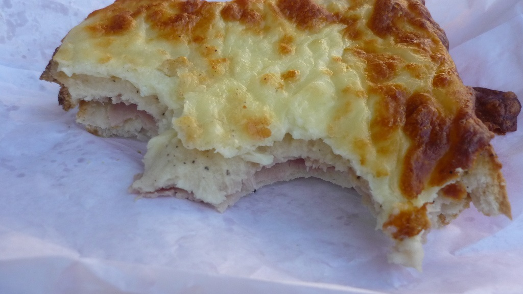 Croque monsieur Lyon France