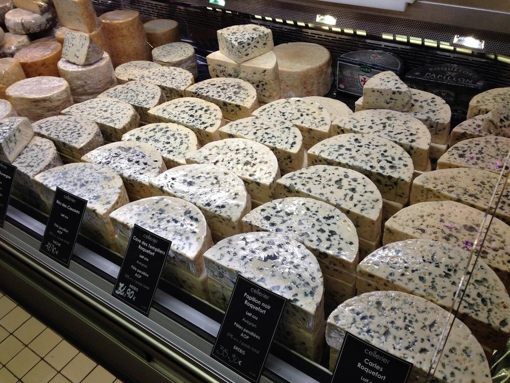 sale formaggio di Lione Francia