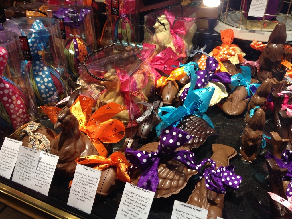 Easter Chocolates Lyon France Les Halles