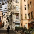 Old town Lyon France
