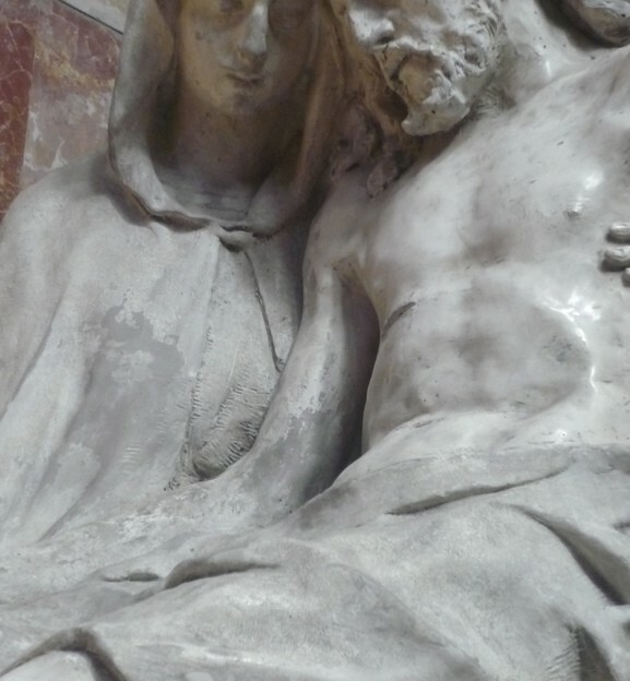 Marseille Pieta Scene