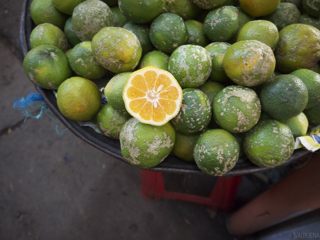 You can find all types of fruits and vegetables throughout Colombia