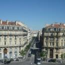 Parisian Haussman style street marseille