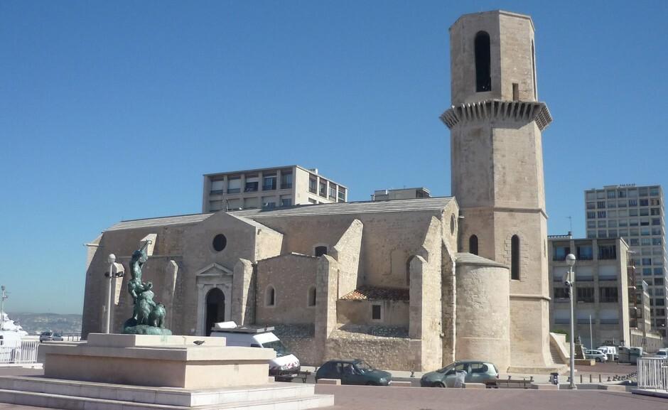 Die romanische Kirche Marseille