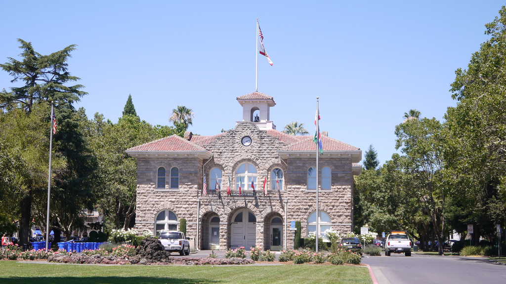 Town Hall in Sonoma California