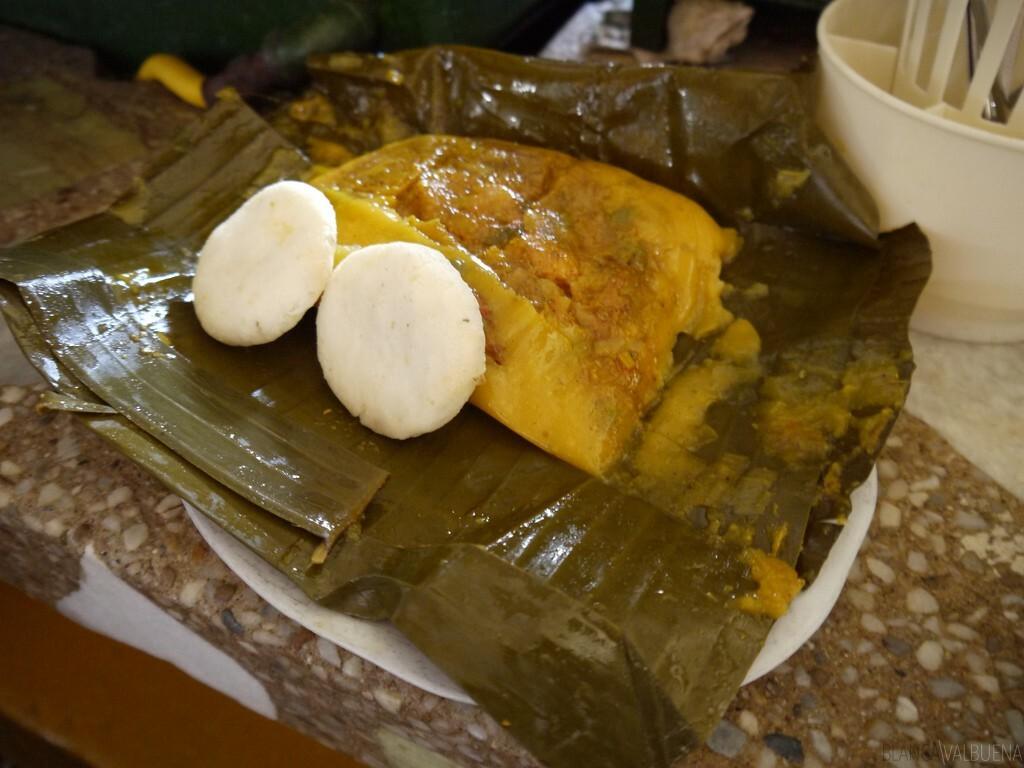 Tamales Tolimenses en mercado