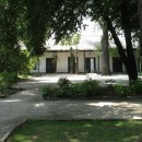 Courtyard Vina Santa Carolina Santiago de Chile