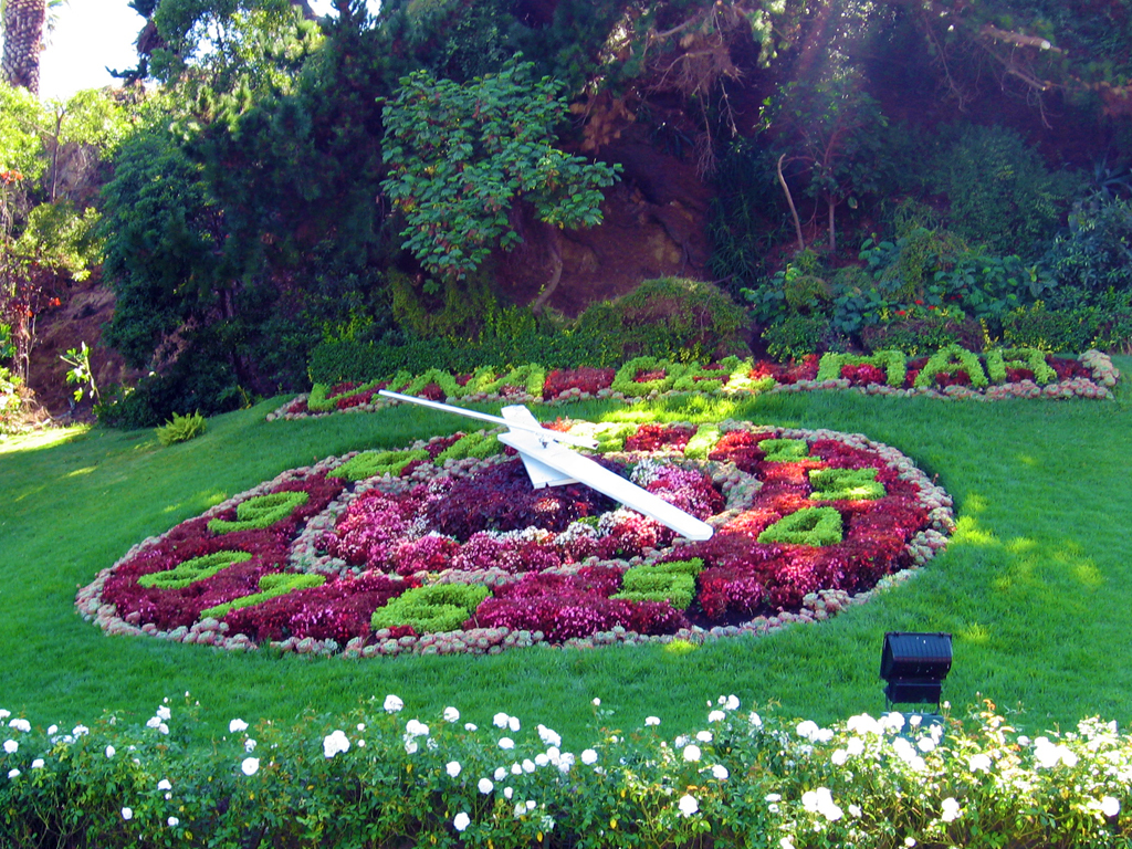 Chiles Blumenuhr