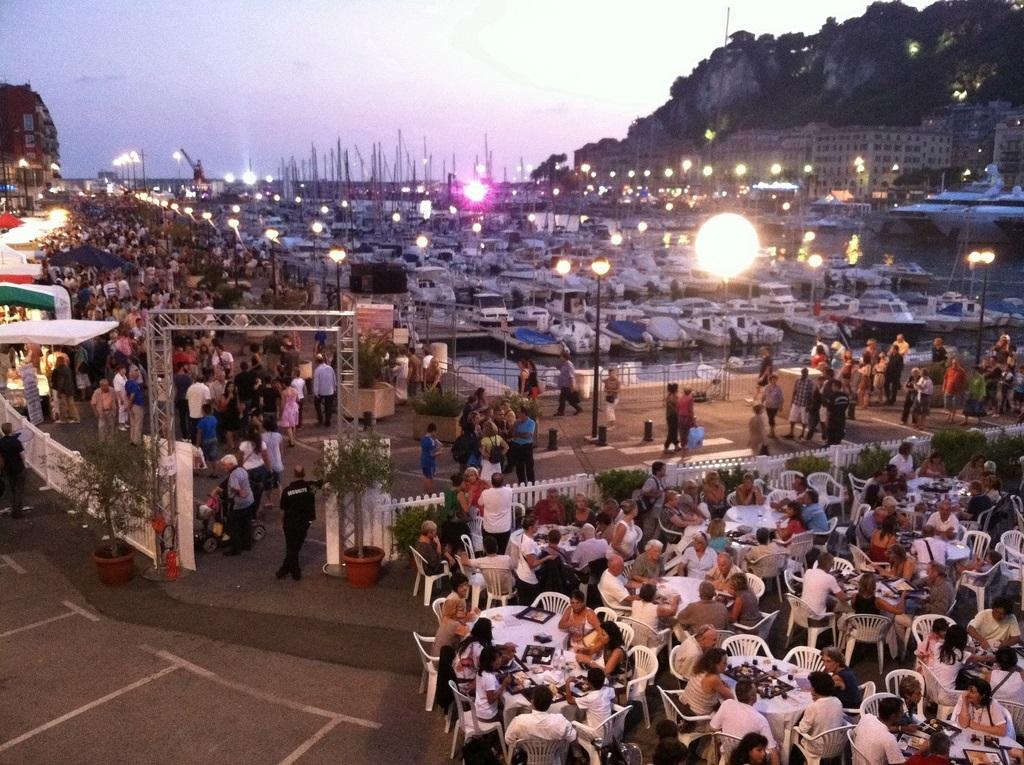 Port Festival à Nice France