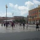 Güzel Fransa'da Meydanı'nda tramvay