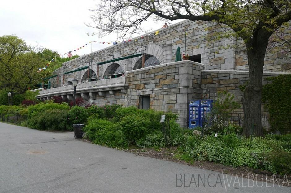 Central Park Boat Basin Cafe
