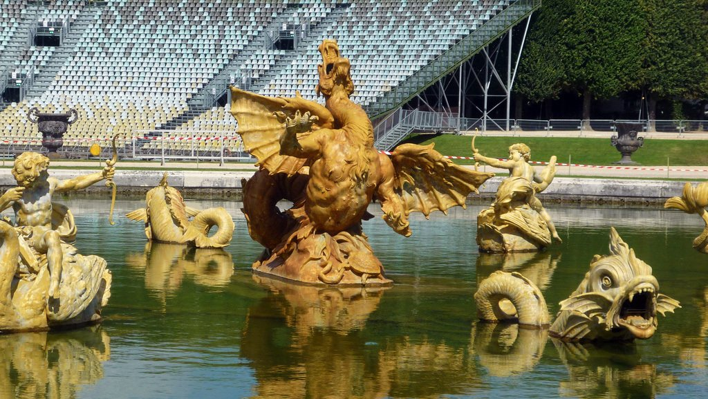 Fountain of Dragon Versailles