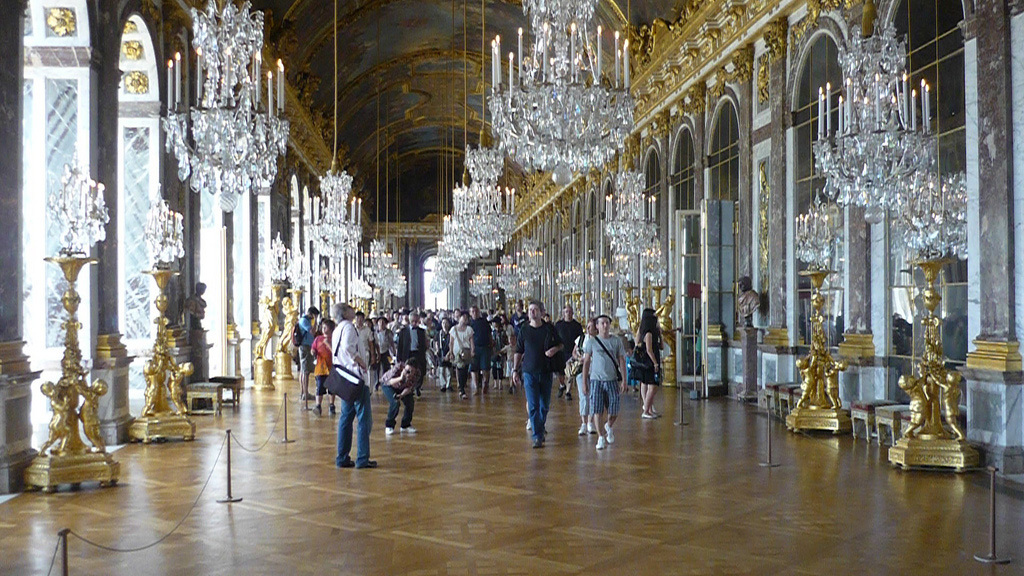 Versaille's Mirrored Room