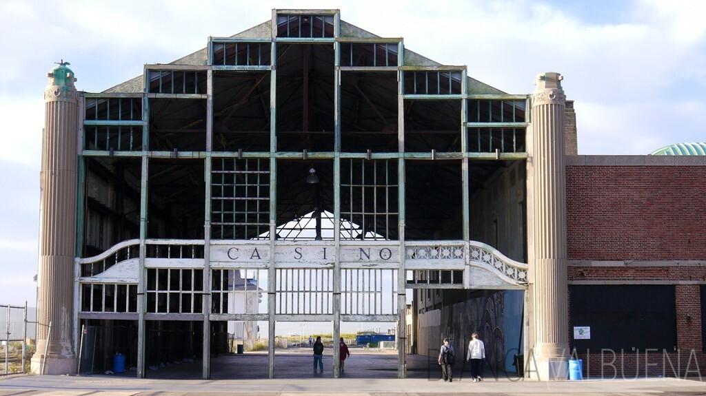 Asbury Park Casino Remains