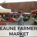 One of the best food markets in Burgundy is the Beaune Farmer's Market