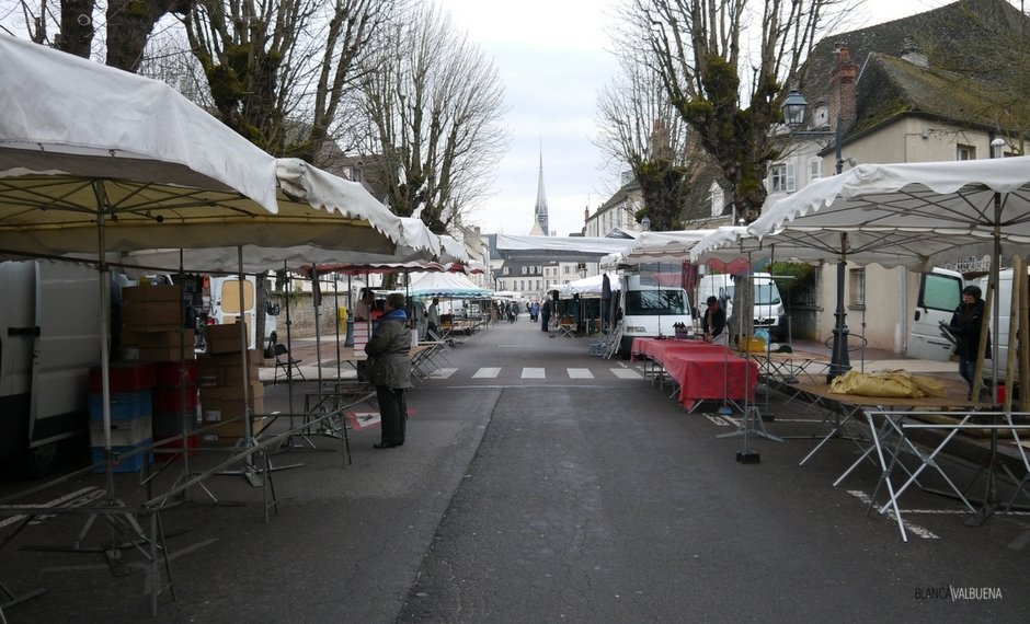 Get to the Beaune Farmer's Market early so you can get top choice