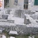 Key shaped ruins in Zadar