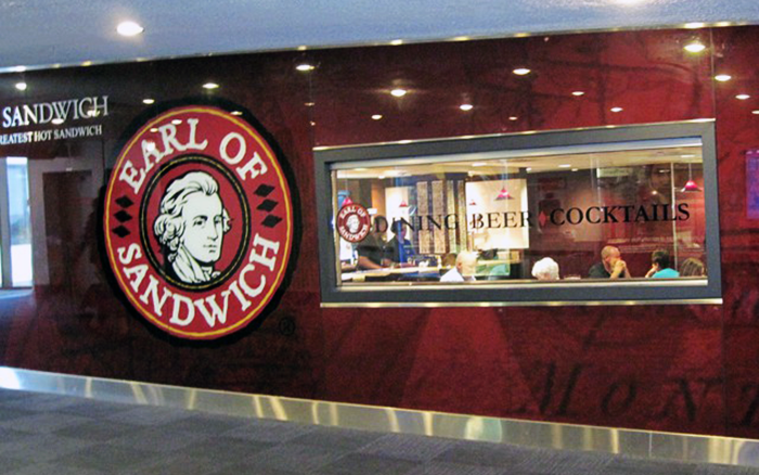 Wenn Sie ein Sandwich am Newark Airport Check out Earl of Sandwich