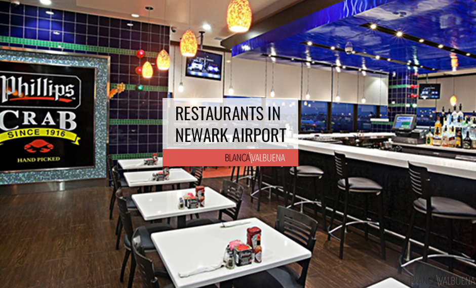 A list of Restaurants in Newark Airport